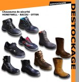 LOT CHAUSSURES DE SECURITE BACOU HONEYWELL