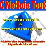 C' Nettoie Tout Le spécialiste des Raclettes Vitres Magnétiques Aimantées Simple ...