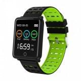 Montre connectée sport , bracelet intelligent pour Iphone et Android-Vert