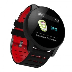 MONTRE CONNECTEE SPORT ROUGE