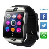 Montre connectee telephone camera bluetooth ecran tacile- Couleur Grise