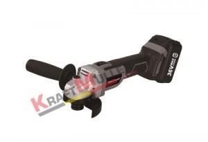 KRAFTMULLER, Meuleuse d'angle sans fil 36 V,3.0Ah,125mm