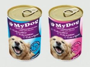 Aliment pour chien Au boeuf ou à la volaille