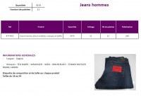 Lot de Jeans Hommes de Marque