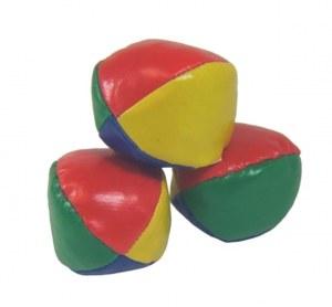 Lot de set de 3 balles de jonglerie