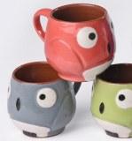 Mugs hiboux faits main issus du commerce équitable