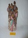 6000 articles de decoration statuettesAfricaine Malienne Animaux bois resine Lampe salo...