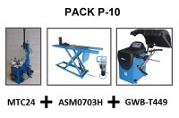 PACK 10 SPECIAL MOTO, QUAD, BUGGY, MTC24 ASM0703H GWB-T499