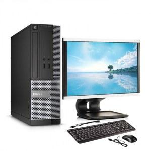 """ORDINATEUR COMPLET DELL OPTIPLEX 3020 DT I3 4GO SSD 128GO ECRAN 20"""""""