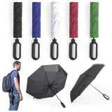 """Parapluie """"Brosmon"""" en Pongee - Objet publicitaire AVEC ou SANS logo - Cadeau client -..."""