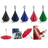 """Parapluie Réversible """"Hamfrey"""" en Pongee - Objet publicitaire AVEC ou SANS logo - Cadea..."""