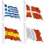 Pavillon pays Union Européenne - Groupe B