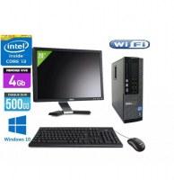 Pc Complet Dell Optiplex 790 Avec Ecran 20 pouces DELL core i3 2120 3.3GHZ 4Go 250Go Wi...