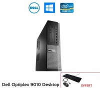 PC DELL Optiplex 9010 Intel core i5-3470 3.2Ghz 4Gb DVDR Win 10 ou Win 7 pro