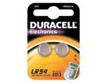 """DURACELL Blister de 2 Piles bouton alcaline """"Electronics"""" LR54 1,5 Volt"""