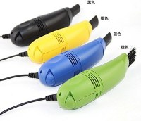 Mini aspirateur USB brosse de nettoyage pour clavier PC (vert, bleu, noir, jaune, ect...)