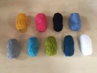 Vente en gros pelotes de laine 25 gr