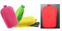 Mobile phone case- Rose, vert pomme, jaune