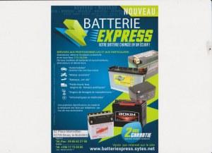 Batteries et Pièces détachées