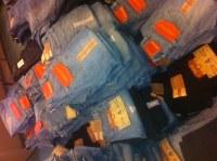 Lots jeans chefdeville