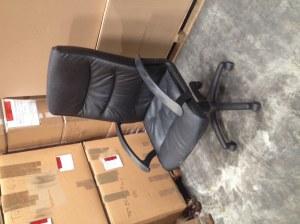 Lot de 35 chaises de bureaux
