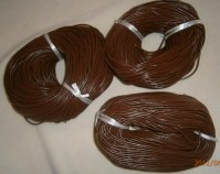 100 Mètres cordon cuir véritable 3mm