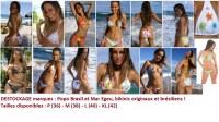 Destockage bikinis de marques brésiliennes