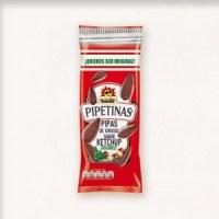 Pipas gout ketchup et bbq