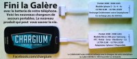 Chargeur de Secour 3000 mAh ULTRAPLAT Iphone 3 & 4