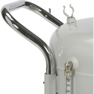 Pompe à vidange d'huile usagée 70 L kraftmuller