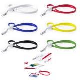 """Porte-Badge Chargeur USB """"Doffer"""" de Type C - Objet publicitaire AVEC ou SANS logo - Ca..."""