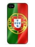 Lot 50 coques personnalisée drapeau portugal iphone 4 4S