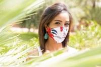 Masque de protection en tissu (lavable 50 fois/93% filtration), agréé