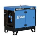Groupe électrogène insonorisé monophasé diesel 5,2 kW SDMO