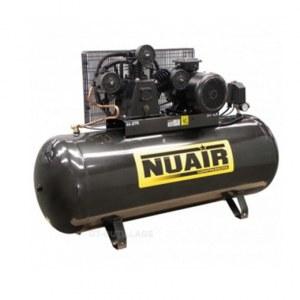 Compresseur d 39 air courroie nuair 500 litres 7 5 cv cylindre en v - Compresseur 500 litres ...