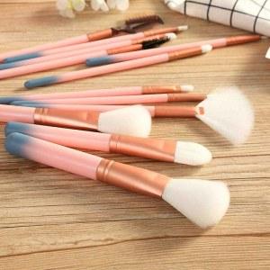 SHOP-STORY - PROFESSIONAL MAKEUP BRUSHES : Set de 12 Pinceaux de Maquillage avec Étui