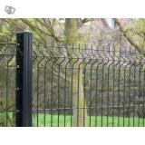 Panneaux clôture rigide