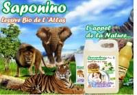 Lessive Bio Racines Saponaires et Lavande Atlas Maroc bouteille 1L