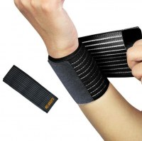 Bande bandage de strapping élastique poignet - Protège poignet protection maintien et...