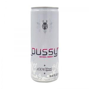 PUSSY - boissons énergisante 100% naturelle