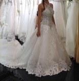 Fabricant magnifique robes de marieé en tulle, dentelle et perles