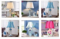 Lampe de table Résine Minimaliste Moderne Led