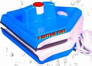 Raclette vitre magnetique reglable 06 / 26 mm c nettoie tout !