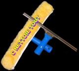 Destockage / Kits laveur de vitre Pro / Raclettes 35 cm + Mouilleurs Microfibre complet...