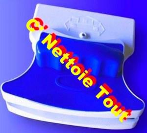RACLETTE LAVE GLACE MAGNETIQUE VITRE AIMANTEE POUR simple & double vitrage ! Gros / Rev...
