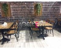 Chaise bisto- mobilier de restaurant-brasserie