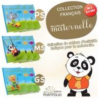DESTOCKAGE Lot de livre parascolaire maternelle français