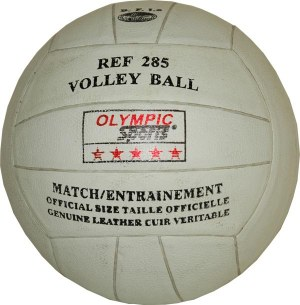 BALLON DE VOLLEY-BALL cuir collé