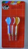 3 FLÉCHETTES STANDARD pointe métal