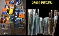 28000 PIECES DE TRINGLES ET ACCESSOIRES NEUF